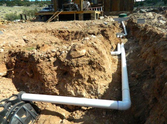 Sewer Utility Installation