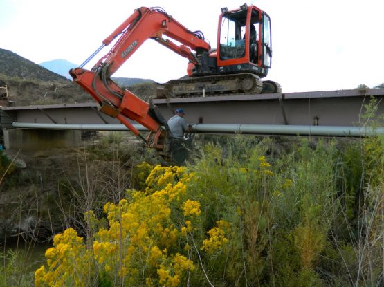 Bridge Utility Installation
